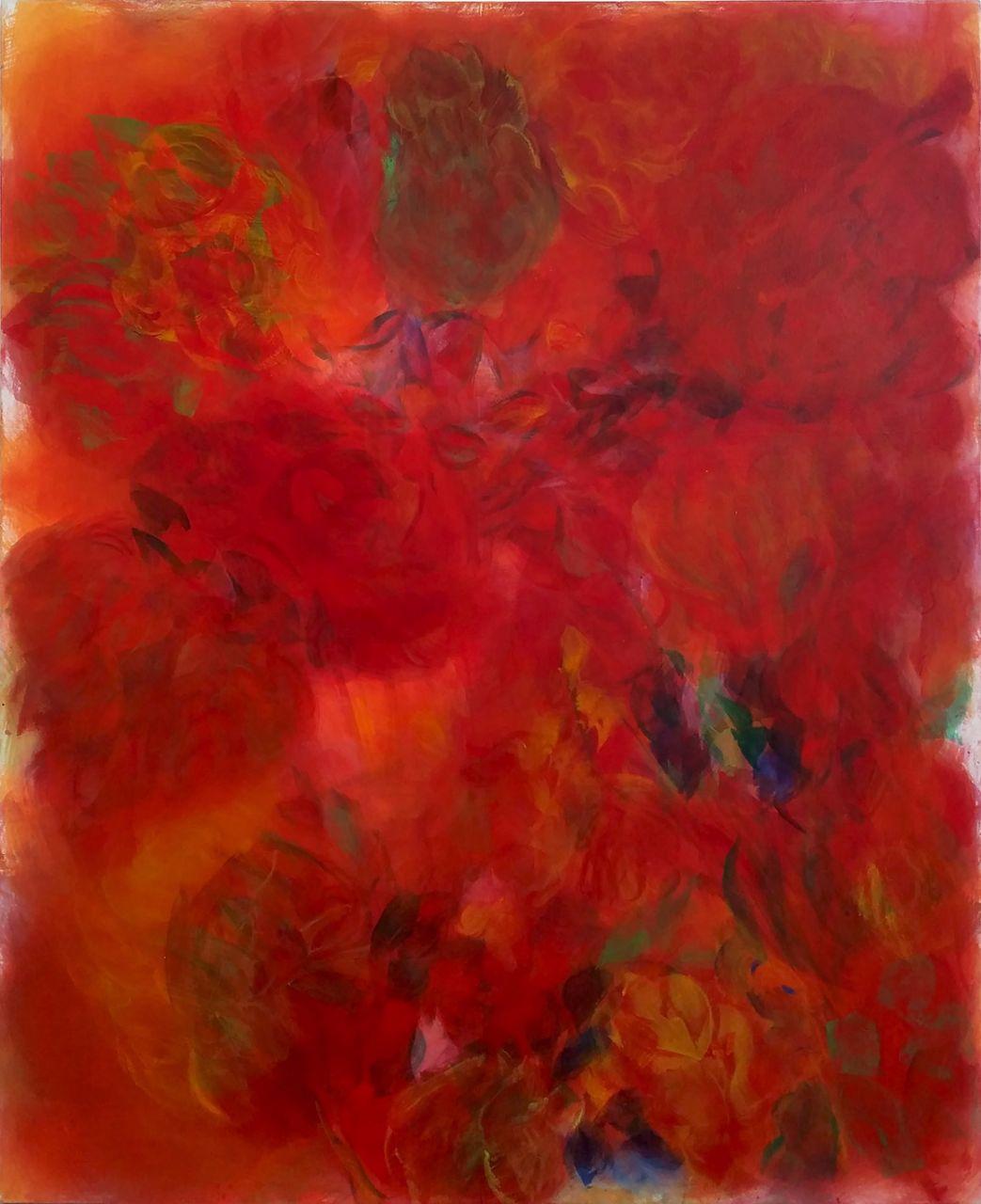 Hanspeter Münch, Ohne Titel II, Werk Nr. 2, 2011, Acryl auf Leinwand, 220 x 180cm