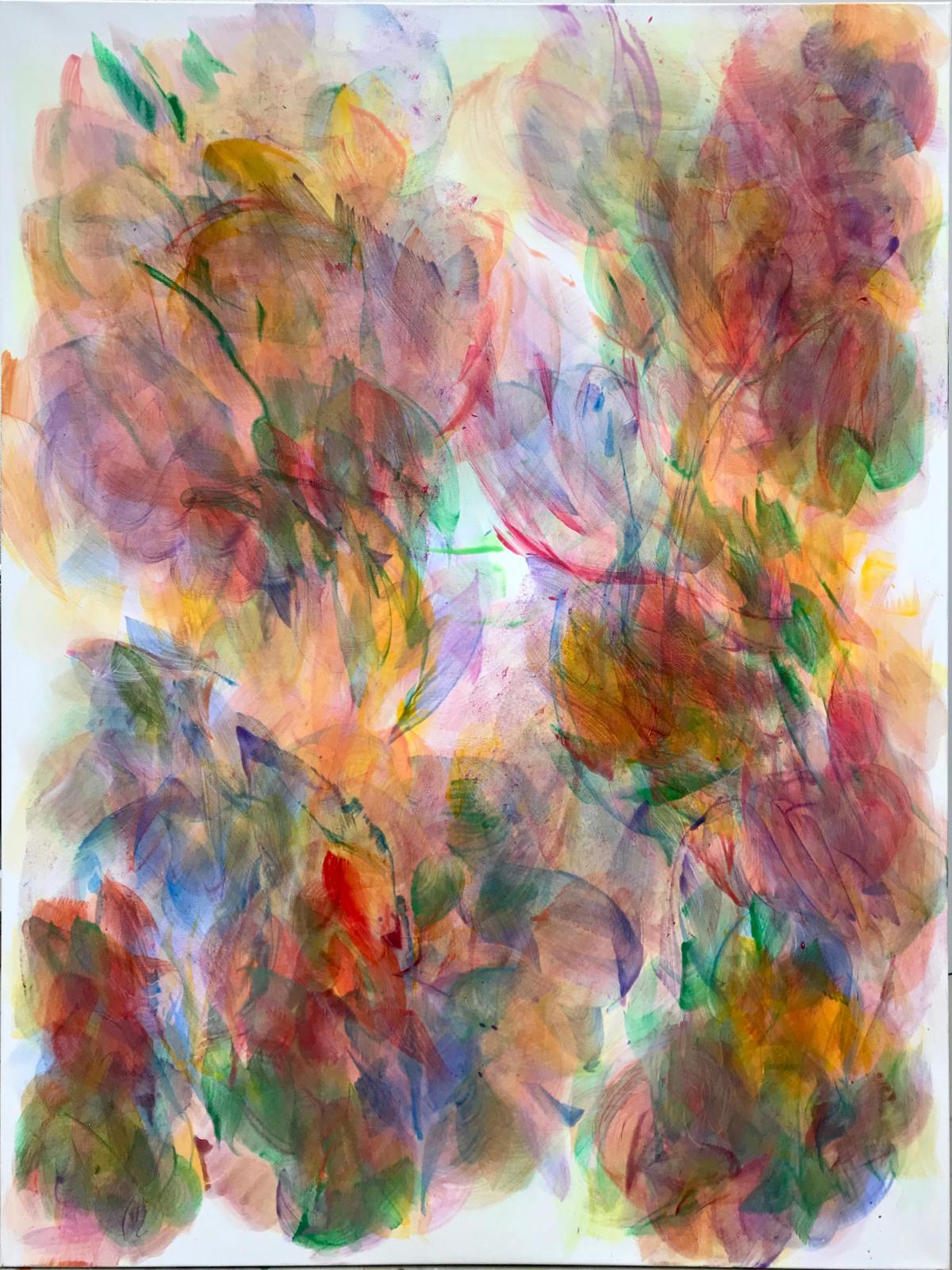 Hanspeter Münch, Ohne Titel, 15/2019, Acryl auf Leinwand, 180x150cm